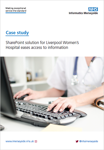 SharePoint solution for Liverpool Women's Hospital eases access to information