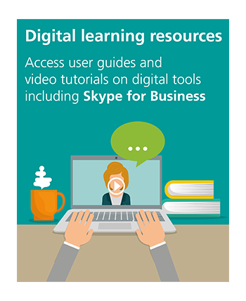 View digital learning resources